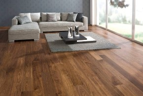 Engineered wooden floor installation in Carlisle, Cumbria
