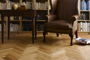 Parquet floor installation in Carlisle, Cumbria